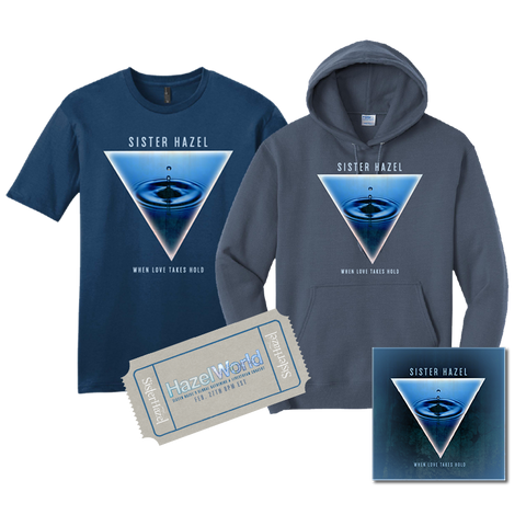 Livestream Ticket + Hoodie + T-Shirt + Patch
