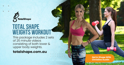 Package 2- Total Shape Weights Workouts