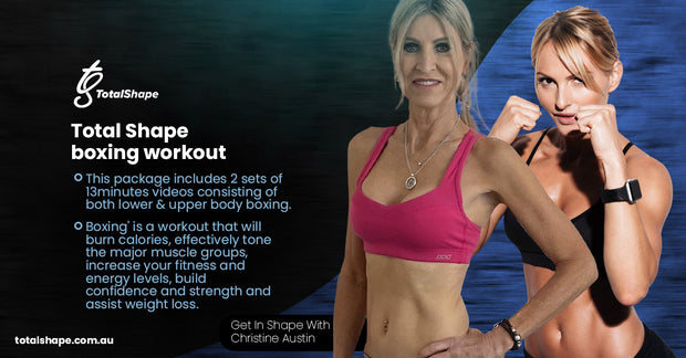Package 3- Total Shape Boxing Workout