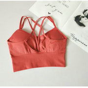 Wild Cross-Back Sports Bra