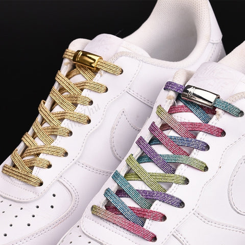 Magnetic No-Tie Funky Laces - one size fits all shoes