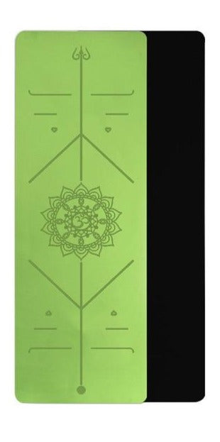 Yoga & Pilates Alignment Mat