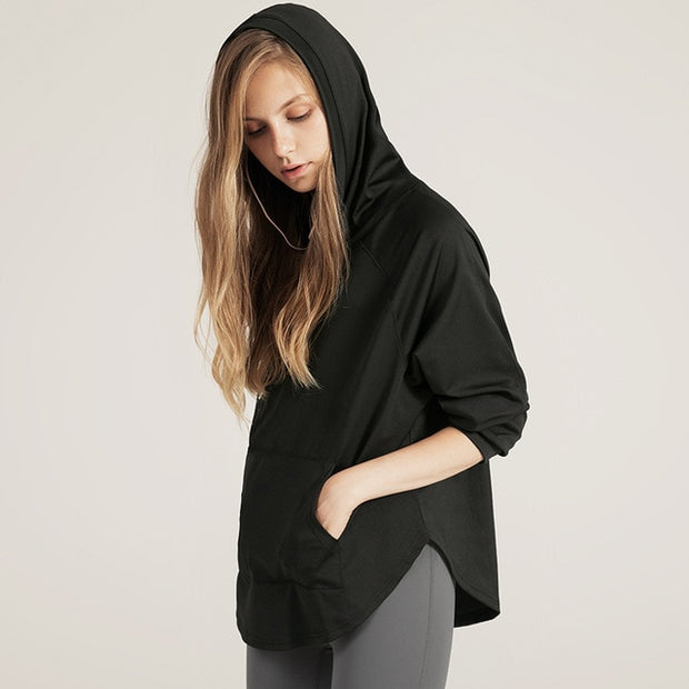 Loose-Fit Run Hoodie