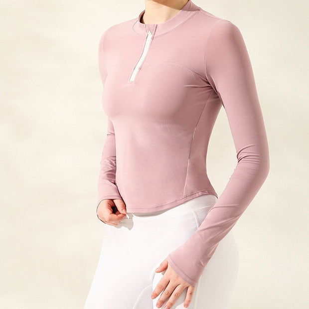 Slim-Fit Action Sweatshirt