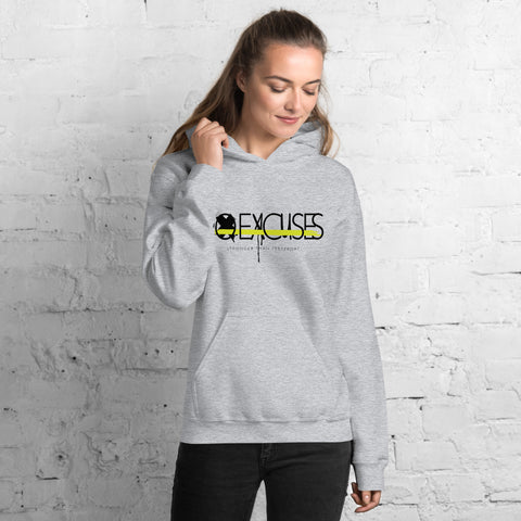No Excuses, Stronger than Yesterday Hoodie
