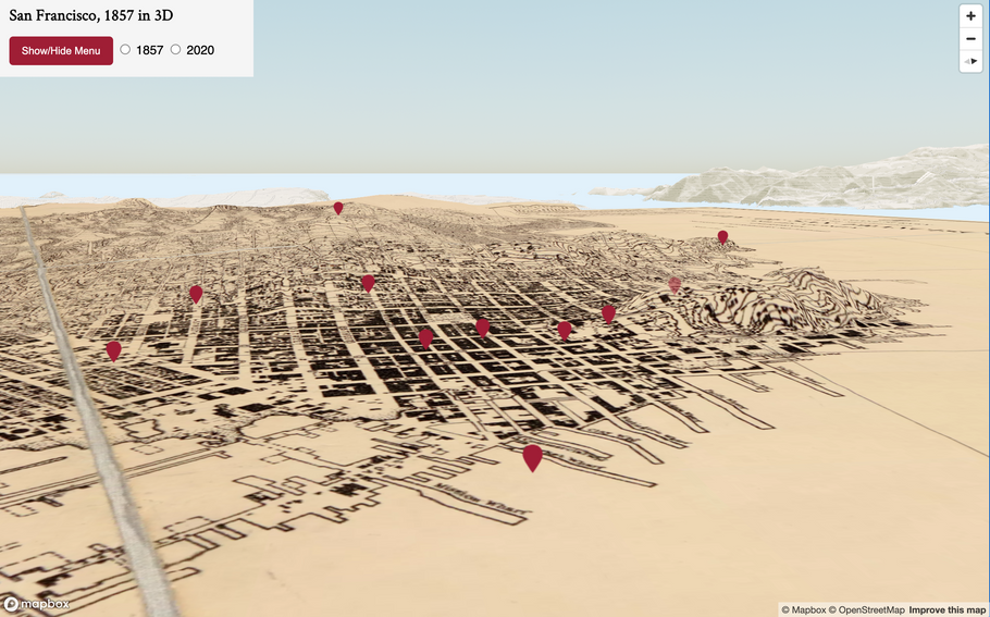 How to Turn Historical Maps into 3D Interactives