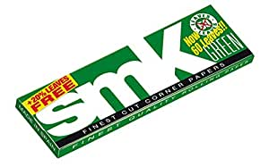 SMK Green 1 1/4 Size Rolling Papers - 60 Leaves