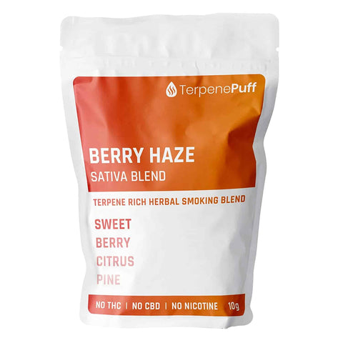 Terpene Puff - BERRY HAZE Herbal Smoking Blend