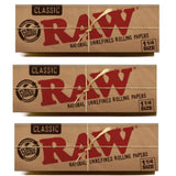 RAW Classic 1 1/4 Size Rolling Papers - 50 Leaves