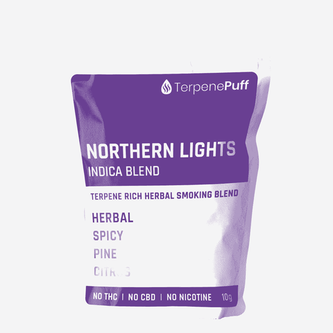 Terpene Puff - NORTHERN LIGHTS Herbal Smoking Blend