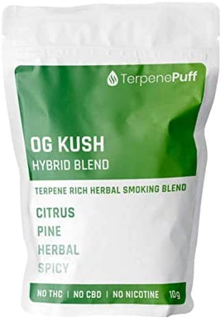 Terpene Puff - OG KUSH Herbal Smoking Blend