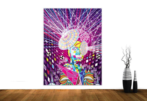 Brainwash Wall Hanging