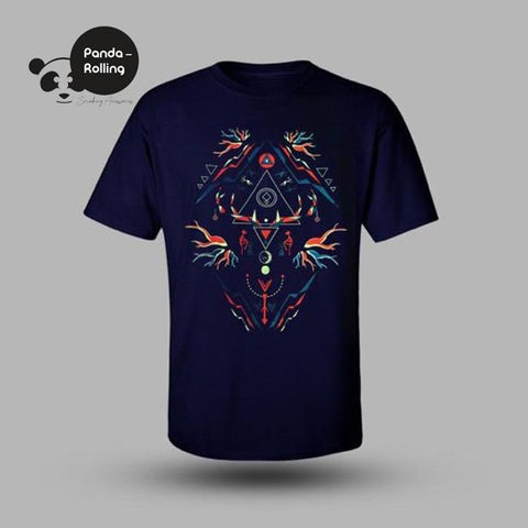 Organic Root Glow in the Dark Unisex T-shirt
