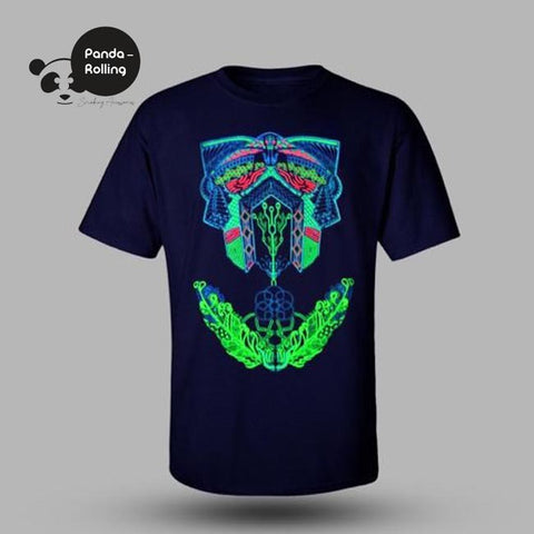 Split Reality Glow in the Dark Unisex T-shirt