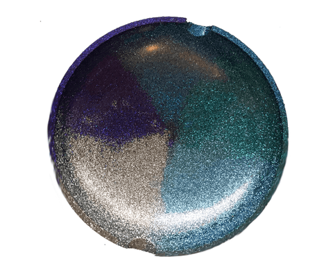 Blue Gold II Resin Ashtray