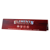 ELEMENTS Red Hemp King Size Slim Rolling Papers