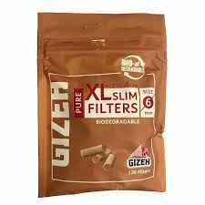 Gizeh XL Slim Filter 6mm - 120 Tips