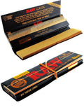 RAW Black Classic Connoisseur - King Size Rolling Papers with Tips