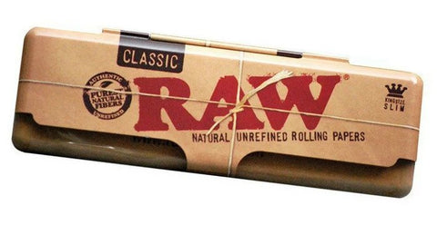 Raw Paper King Size Tin Case