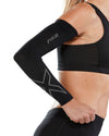 Flex Compression Arm Sleeves - Black/Grey
