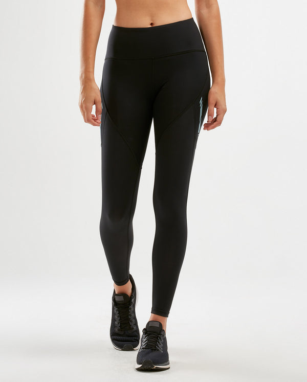 Mid-Rise Run Dash Line Tights