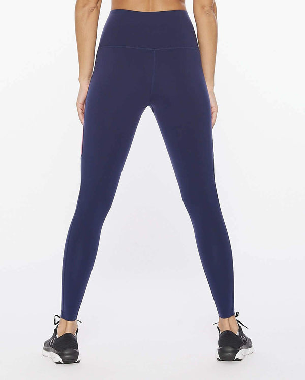 Fitness Colour Block Compression Tight