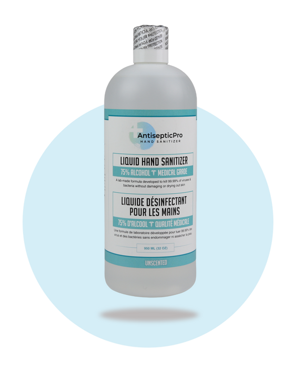 LIQUID HAND SANITIZER | 75% ALCOHOL - 950 ML
