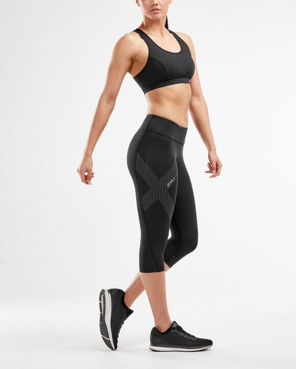 Mid-Rise Compression 3/4 Tights