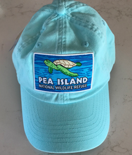 Load image into Gallery viewer, Pea Island National Wildlife Sea Turtle Logo Chino Hat