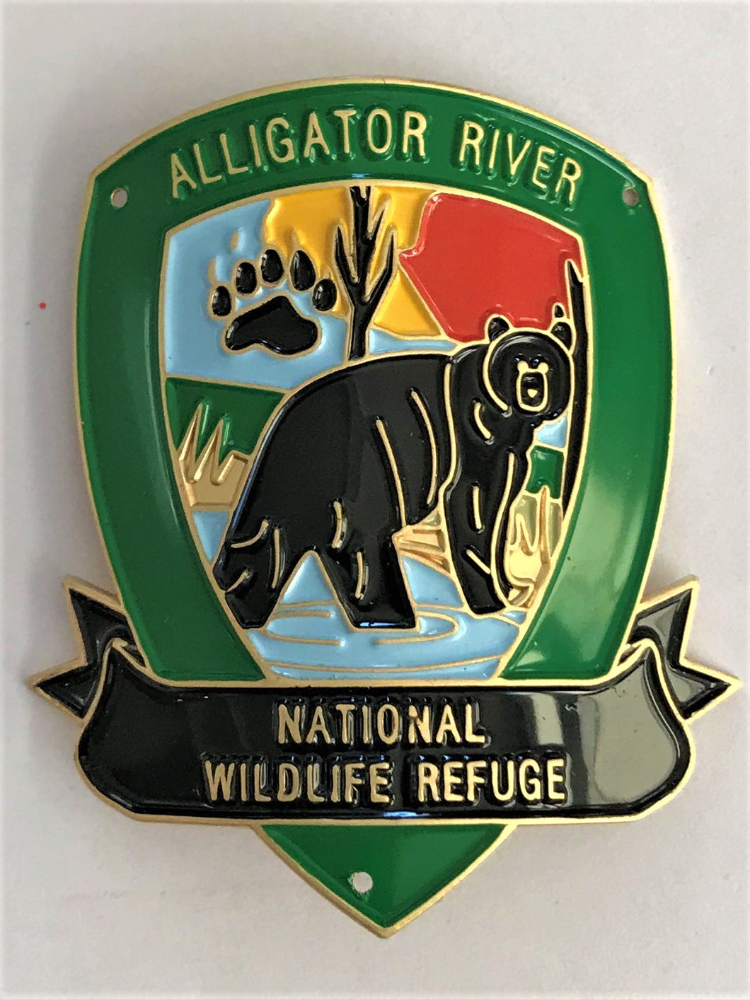 Alligator River National Wildlife Refuge Hiking Medallion