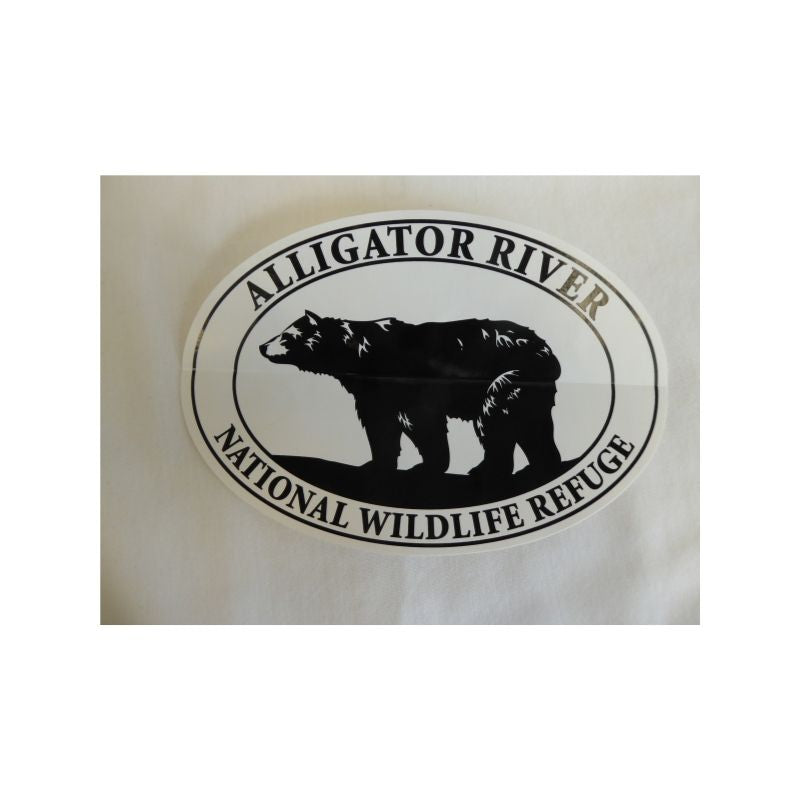 Alligator River National Wildlife Refuge Bear Decal