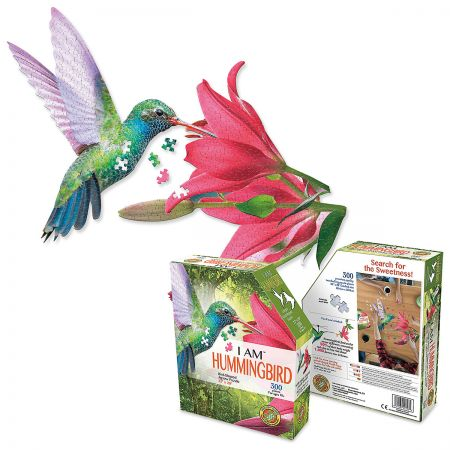 I Am Hummingbird 300 Piece Jigsaw Puzzle