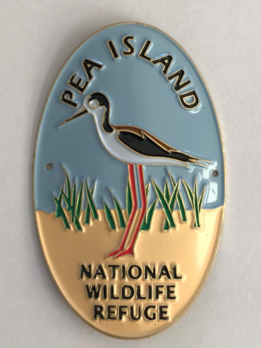 Pea Island National Wildlife Refuge Hiking Medallion