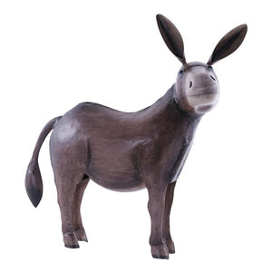 Home and garden decoration donkey 55x24x55