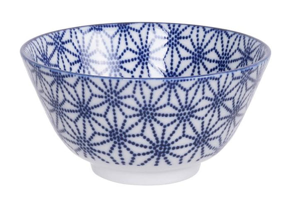 Nippon Blue Rice Bowl 12x6.4cm - InSight. Home and garden decoration