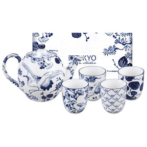 Flora Japonica Teaset 1.25L and  4 cups 170ml