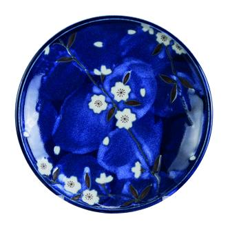 Blue Sakura Plate 19.5cm - InSight. Home and garden decoration