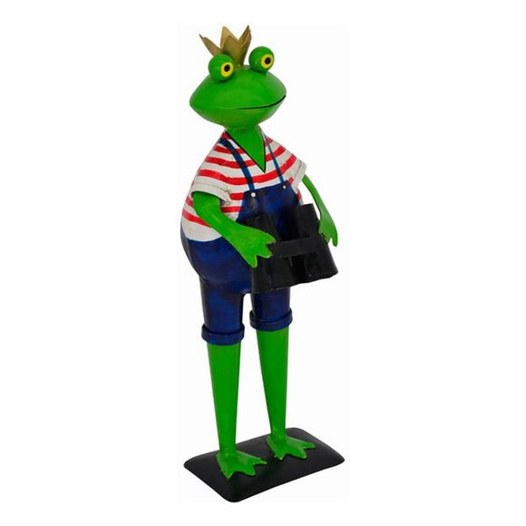 Home and garden decoration frog 15x17x45 cm
