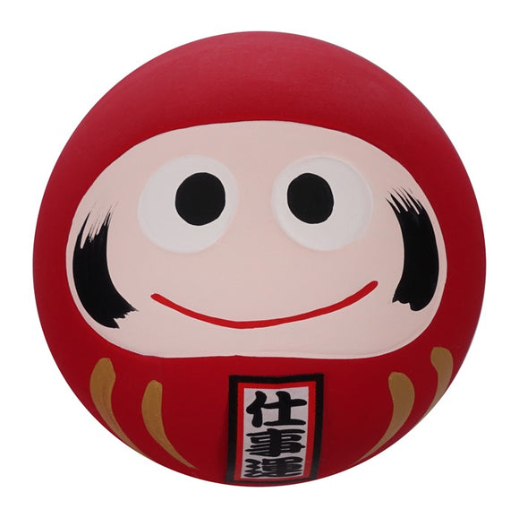 Daruma red brings luck to business