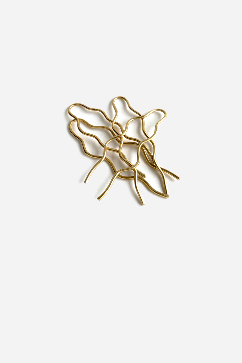 Brass Hair Pin