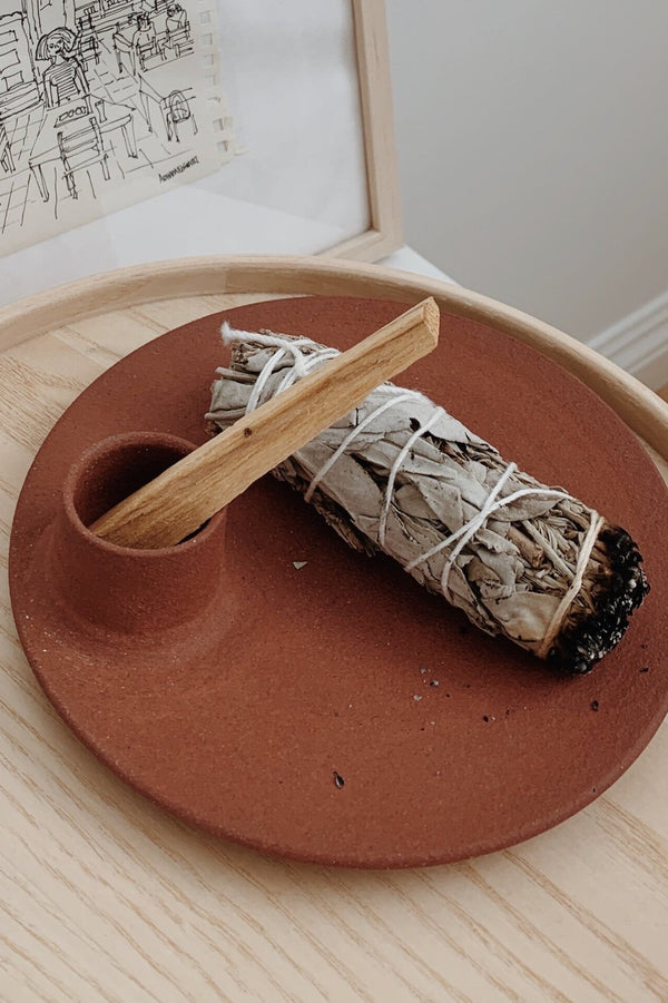 Incense & Smudge Plate
