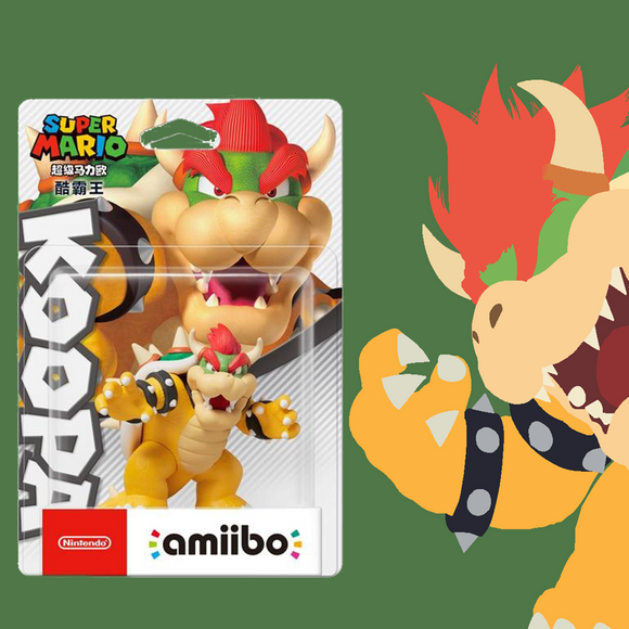 Amiibo Bowser - Super Mario