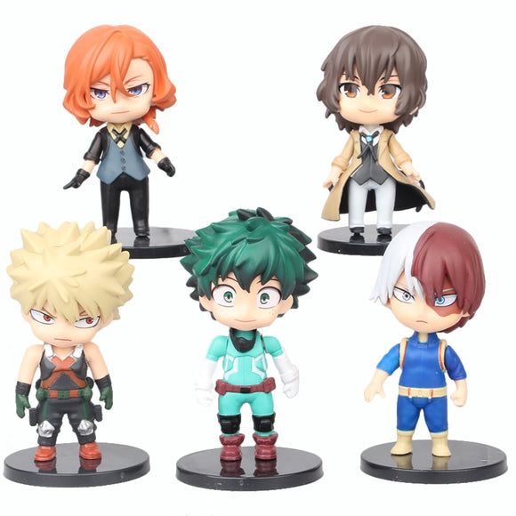 Kit 5 Figures - My Hero Academia