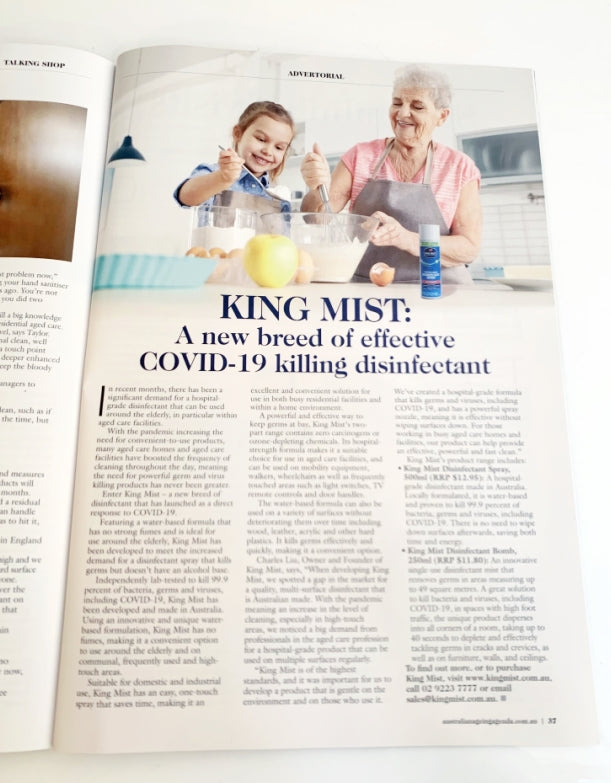 King Mist Ageing Agenda Article
