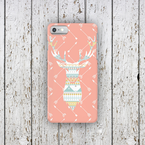 Tribal Deer Pink Arrow