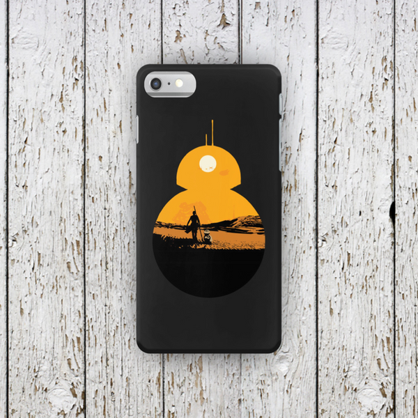 BB8 Star Wars Sunset