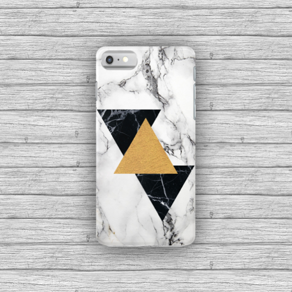 Gold Geometric Marble