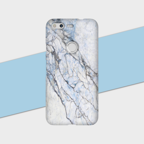 Blue Hint Marble