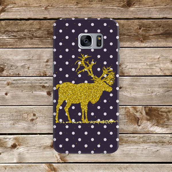 Golden Deer Polka Dot