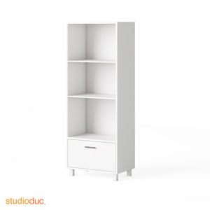 indi tall bookcase